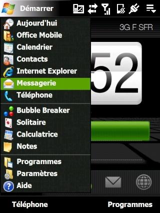 Paramétrage pour récupérer directement ses courriers Hotmail Screen10
