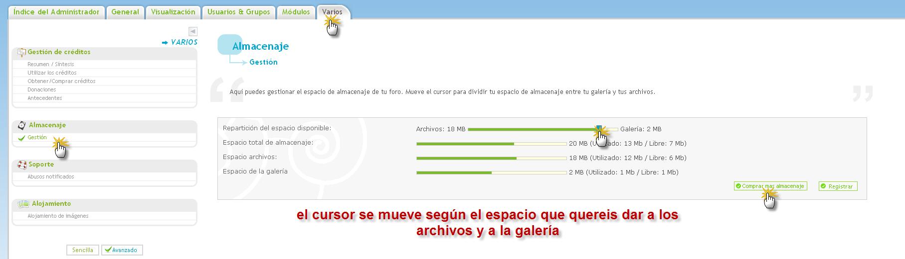 ARCHIVOS : INTERCAMBIAR FICHEROS Arch411