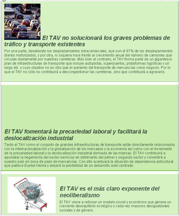 La Y Vasca : Tren de Alta Velocidad (TAV) C310