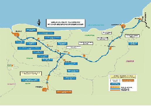 La Y Vasca : Tren de Alta Velocidad (TAV) Foto410