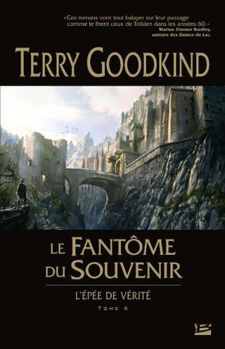 L'ÉPÉE DE VÉRITÉ (Tome 10) LE FANTÔME DU SOUVENIR de Terry Goodkind 51guuj10