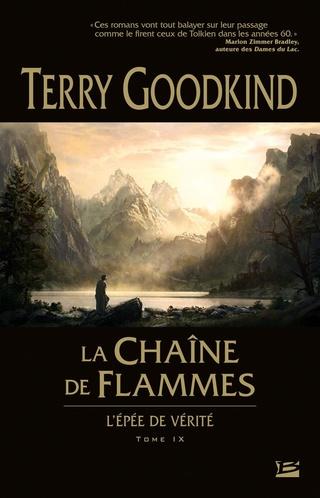 L'ÉPÉE DE VÉRITÉ (Tome 09) LA CHAÎNE DE FLAMMES de Terry Goodkind 71fs3710