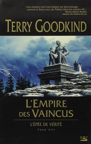 L'ÉPÉE DE VÉRITÉ (Tome 08) L'EMPIRE DES VAINCUS de Terry Goodkind 71tc8d10