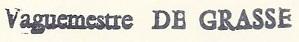 * DE GRASSE (1956/1973) * 127_0010