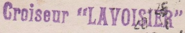 * LAVOISIER (1897/1920) * 160810