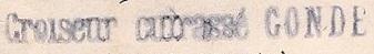 * CONDE (1904/1933) * 184_0011