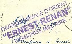 * ERNEST RENAN (1910/1936) * 19191110