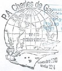 * CHARLES DE GAULLE (2001/....) * 20140110