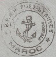 * PORT-LYAUTEY - KENITRA - CASABLANCA * 560510
