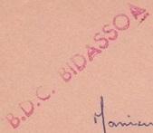 * BIDASSOA (1961/1986) * 721210