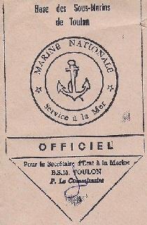 * MOURILLON (Base Sous-marine de Toulon) * 751011