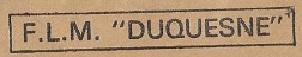* DUQUESNE (1970/2007) * 810410