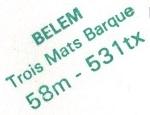 * BELEM (1896/....) * 8907_c12