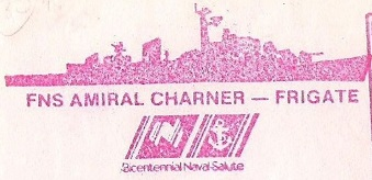 * AMIRAL CHARNER (1962/1990) * 900910