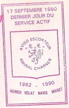 * AMIRAL CHARNER (1962/1990) * 9009_c10