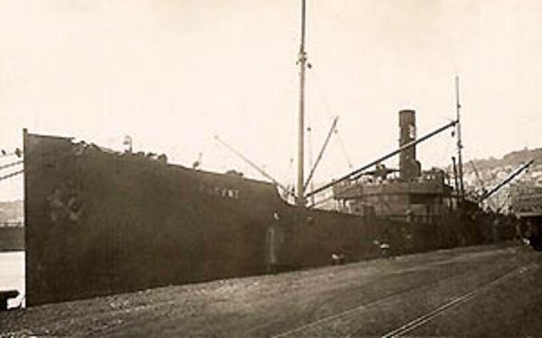 * PHRYNE (1915/1916) * Cargo_16
