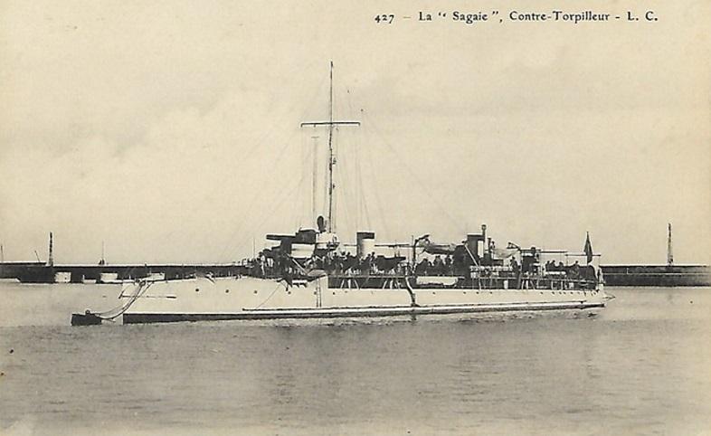 * SAGAIE (1903/1920) * Contre11