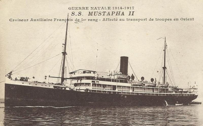 * MUSTAPHA II (1915/1919) * Croise13