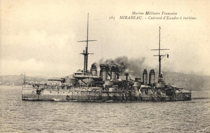 * MIRABEAU (1911/1919) * Cuiras11