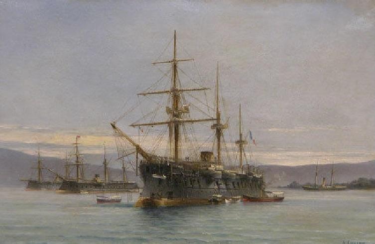 * OCEAN (1870/1894) * Frygat12