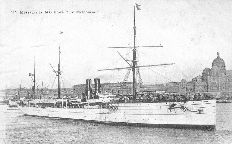 * MELBOURNE (1916/1917) * Paqueb10