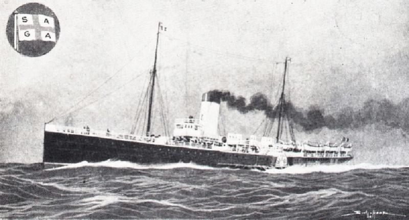 * PAS DE CALAIS (1914/1919) * Paqueb12