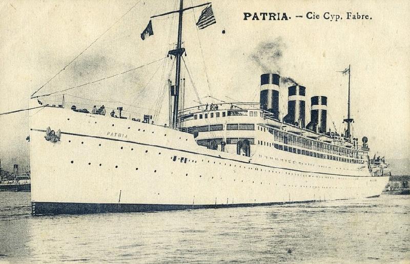 * PATRIA (1940/1940) * Paqueb16