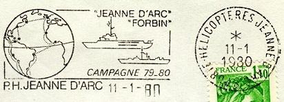 jeanne - JEANNE D'ARC (PORTE-HELICOPTERES) Refait10