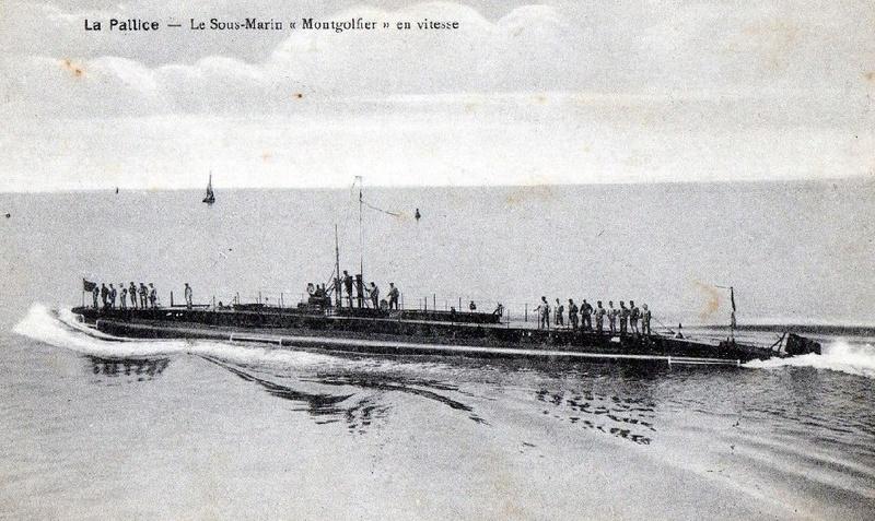 * MONTGOLFIER (1914/1921) * Sous-m16
