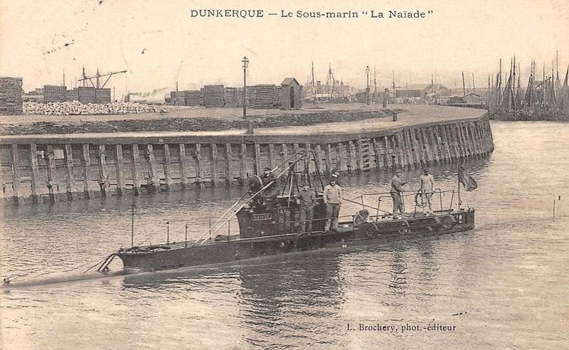* NAIAIDE (1905/1914) * Sous-m17