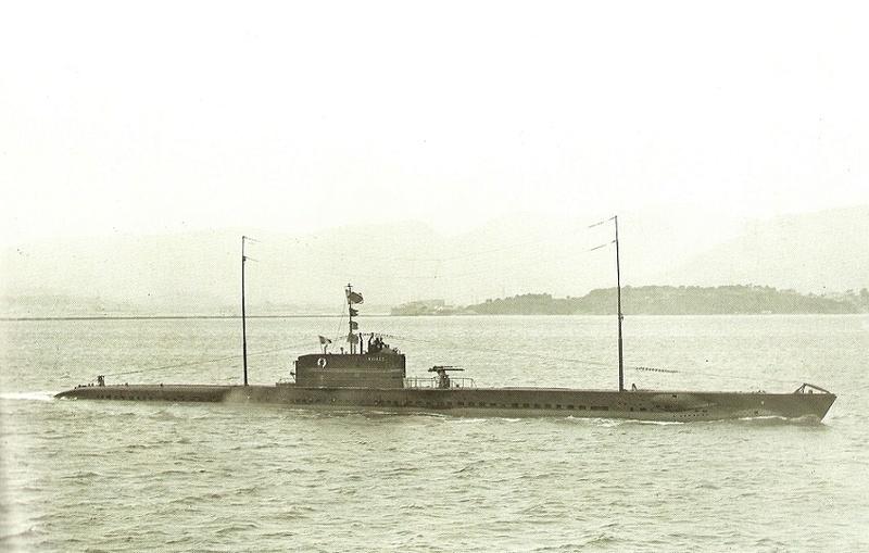 * NAIADE (1927/1942) * Sous-m18