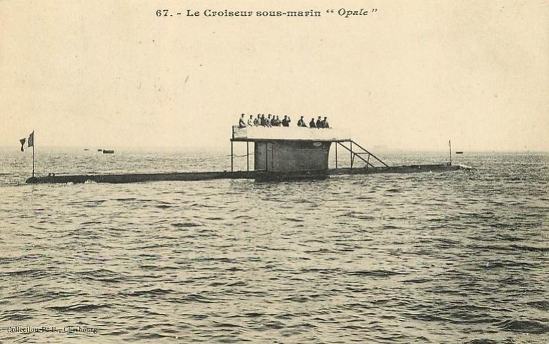 * OPALE (1908/1919) * Sous-m30