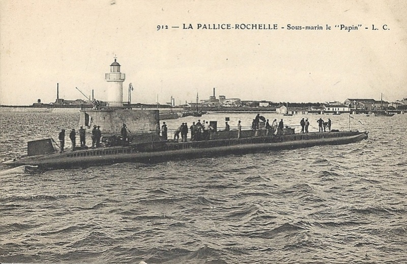 * PAPIN (1909/1919) * Sous-m38