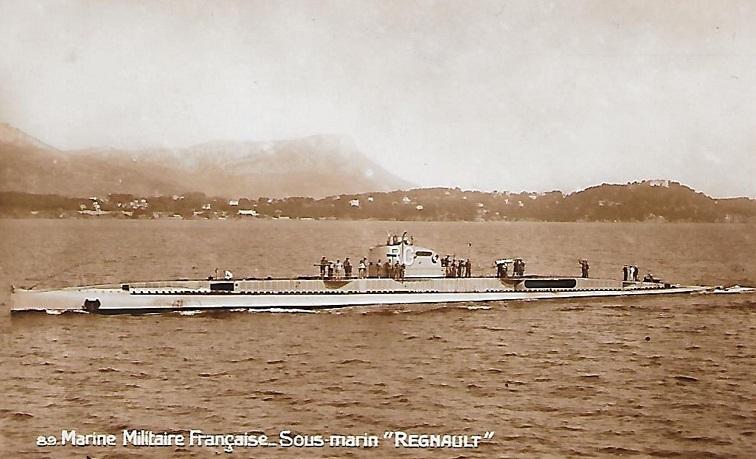 * REGNAULT (1924/1938) * Sous-m57