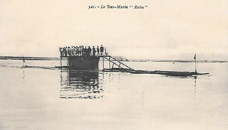 * RUBIS (1909/1919) * Sous-m62