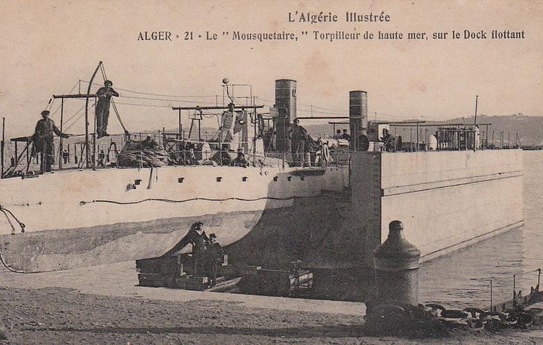 * MOUSQUETAIRE (1893/1911) * Torpil19