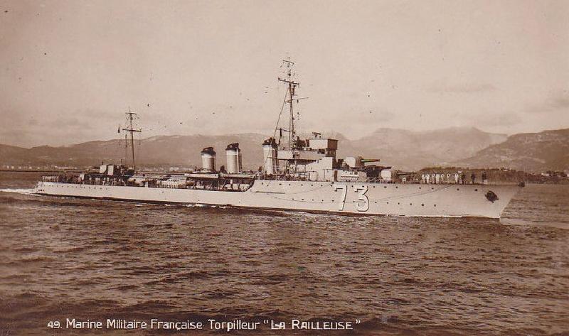 * LA RAILLEUSE (1928/1940) * Torpil33