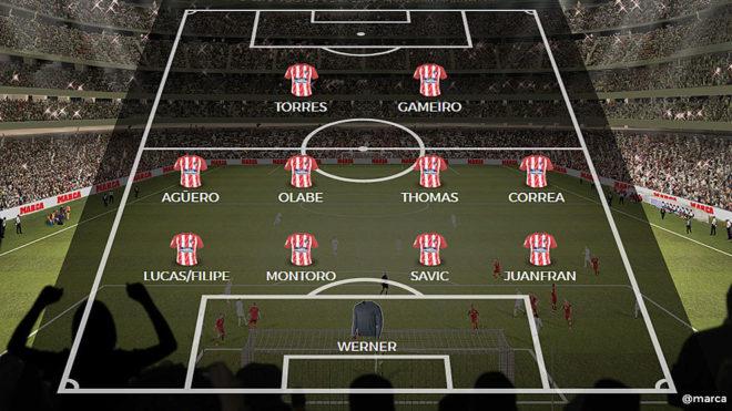 Atletico De Madrid Alinea10