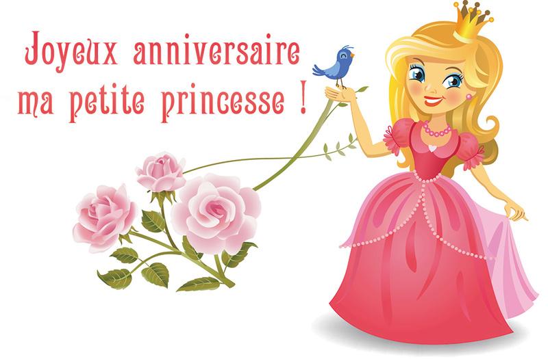 Anniversaire de Princesse Nath Carte-11
