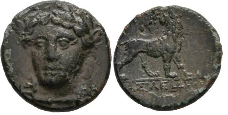 Jonia Miletos BASILEIDHS 260-220 aC  Imagen10