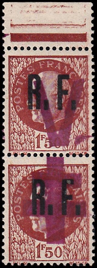 Identifier rapidement un timbre de la Libération Calais11