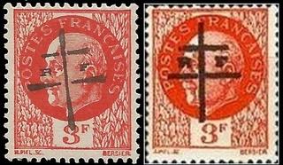 Identifier rapidement un timbre de la Libération Cherbo11