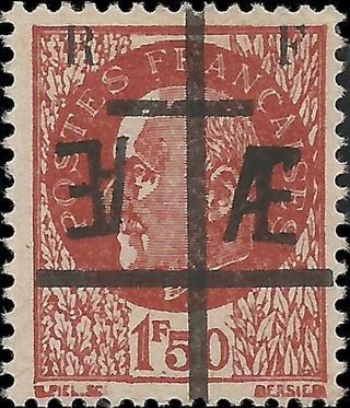 Identifier rapidement un timbre de la Libération Maquis10