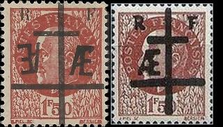 Identifier rapidement un timbre de la Libération Maquis11