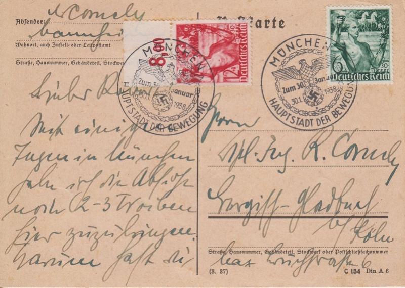 DR FDC Nr. 660-661 - Ausgabe 28. Januar 1938 Fackel10