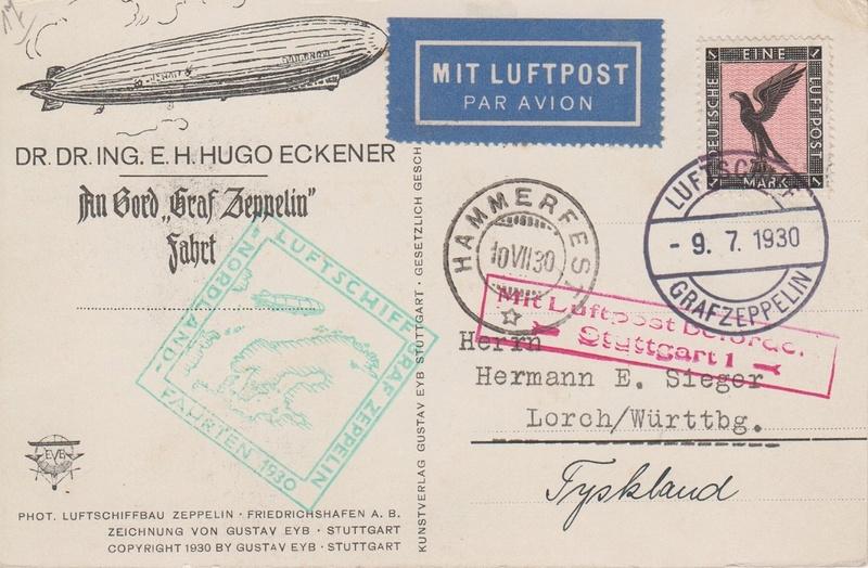 nach - Zeppelin - ungewöhnliche und seltene Destinationen Grafze10