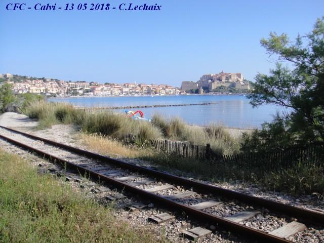 CFC - Chemins de fer de la Corse - de Calvi à l'ile Rousse 508_ca10