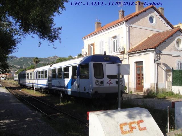CFC - Chemins de fer de la Corse - de Calvi à l'ile Rousse 509_ca10