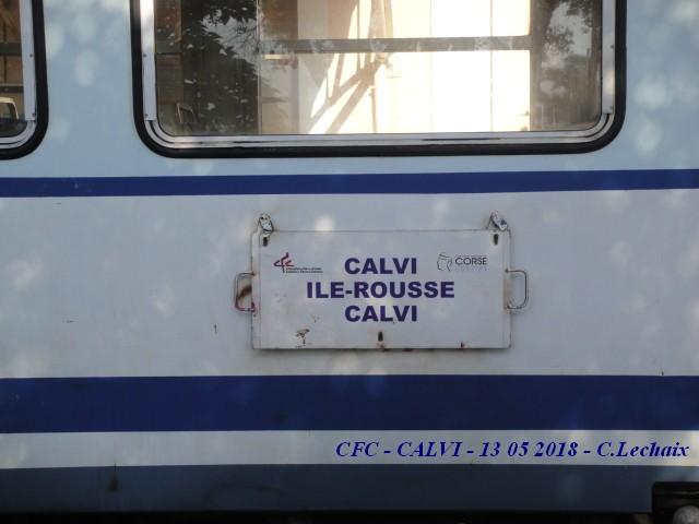 CFC - Chemins de fer de la Corse - de Calvi à l'ile Rousse 510_pa10