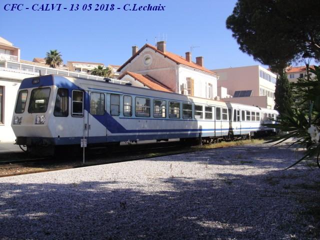 CFC - Chemins de fer de la Corse - de Calvi à l'ile Rousse 511_ca10